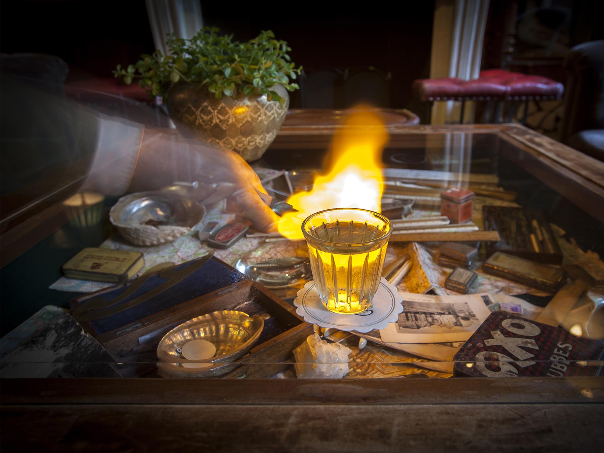 London's signature cocktails, zetter townhouse, flintlock