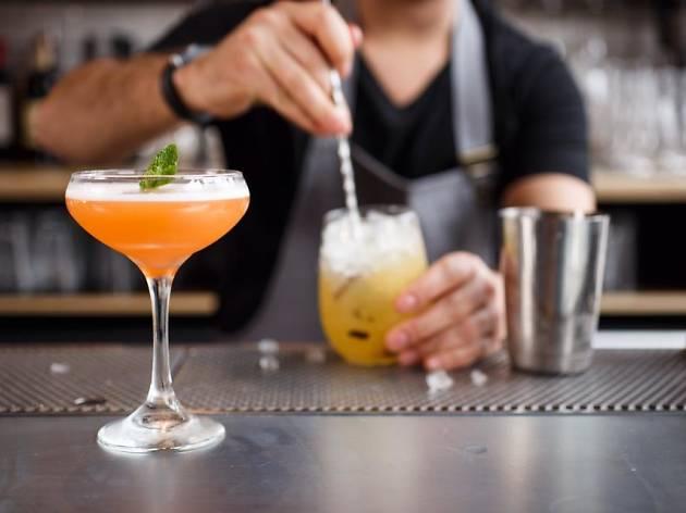 Birmingham's cocktail bar happy hours
