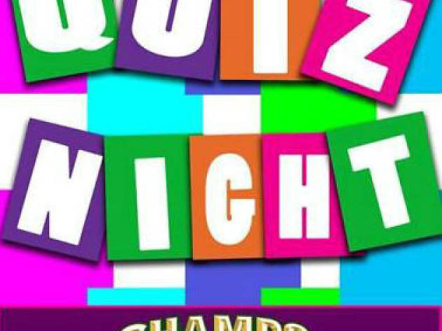 Quiz night at Champs