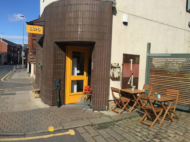 Exterior of Lupo Caffe