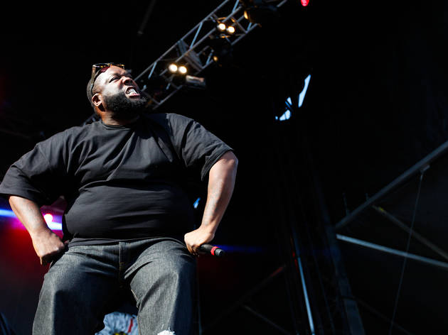 Run the Jewels performed on day one of Austin City Limits Music Festival 2015.