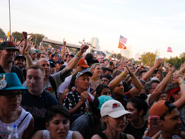 Crowds filled Zilker Park during Austin City Limits Music Festival 2015.