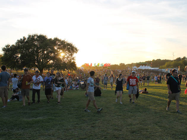 Crowds filled Zilker Park during Austin City Limits Music Festival 2015.