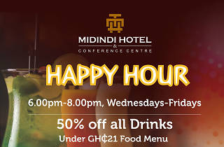 Happy Hour at Midindi howe, Cantonments, Accra, Ghana