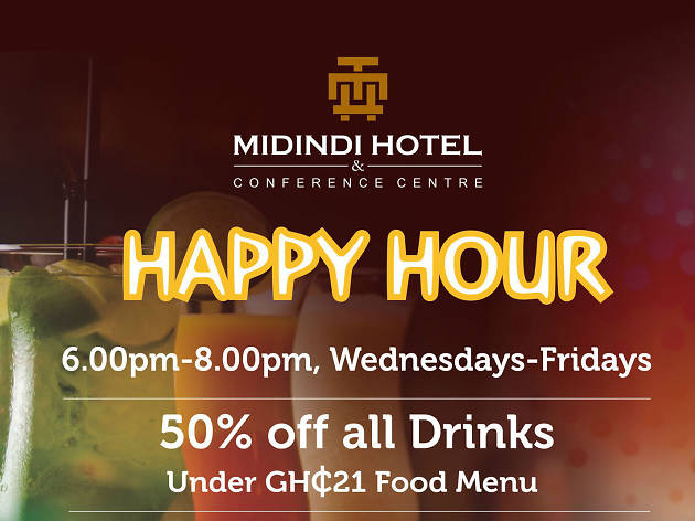 Happy Hour at Midindi Hotel