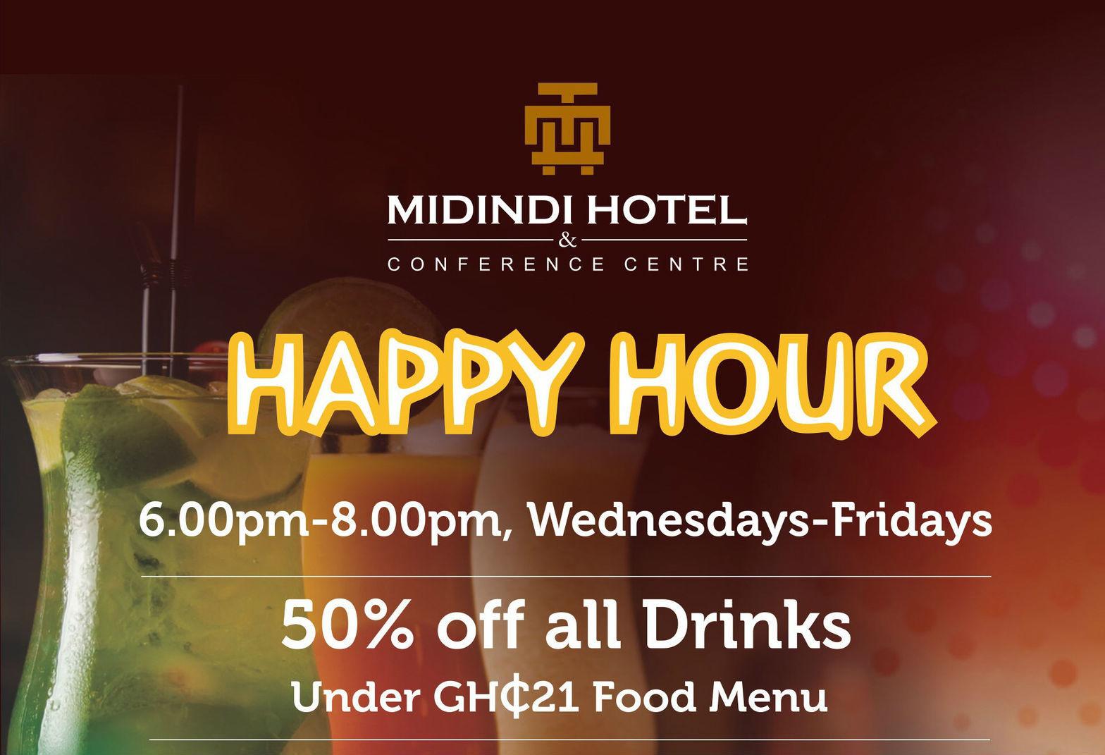 Happy Hour at Midindi Hotel