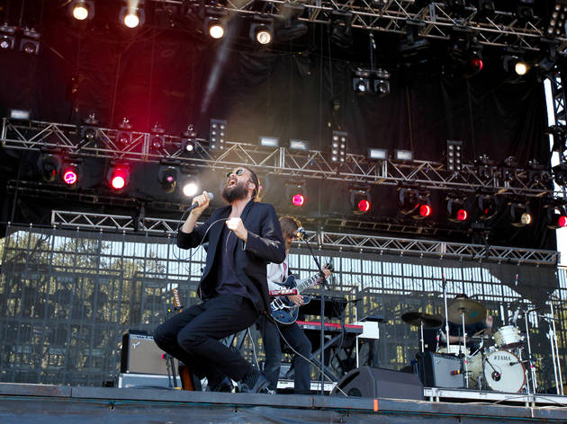 Father John Misty performed on day two of Austin City Limits Music Festival 2015.