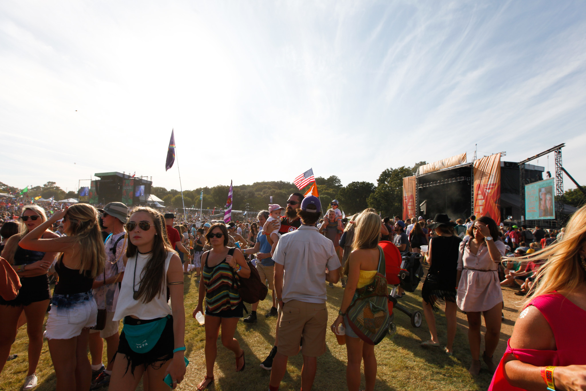 Crowds filled Zilker Park during the first weekend of Austin City Limits Music Festival 2015.