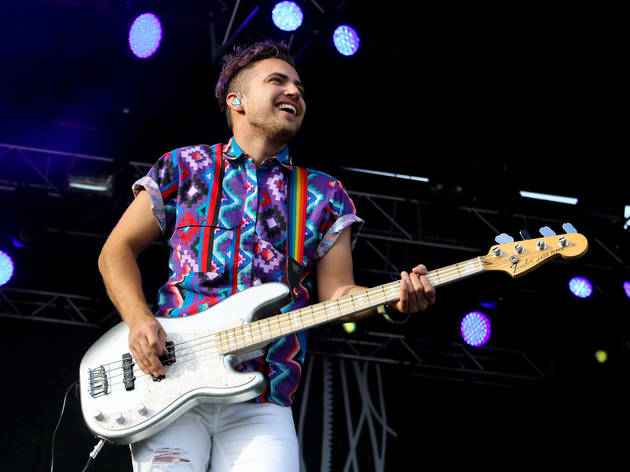Walk the Moon performed on day two of Austin City Limits Music Festival 2015.