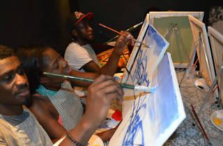 Paint Boire, Accra, Ghana