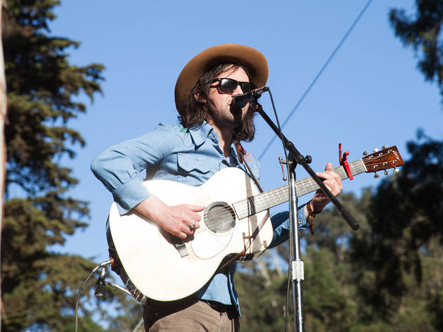Conor Oberst, M. Ward & The Felice Brothers play together at Hardly Strictly Bluegrass 2015