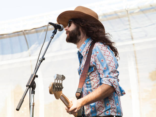 The Sheepdogs at Hardly Strictly Bluegrass 2015