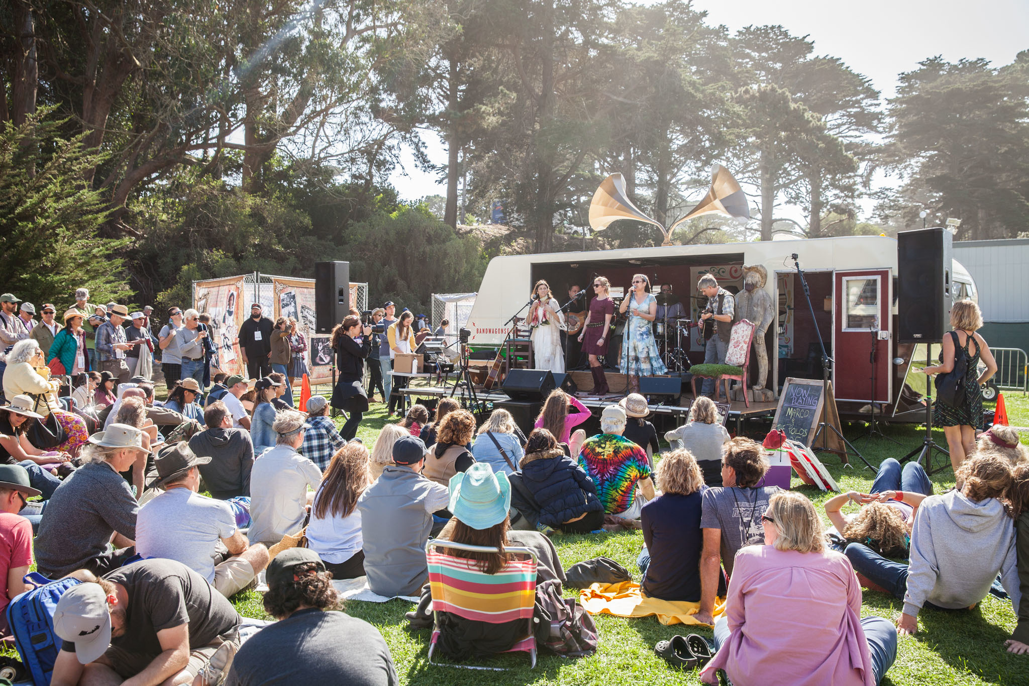 Marco & the Polos at Hardly Strictly Bluegrass 2015