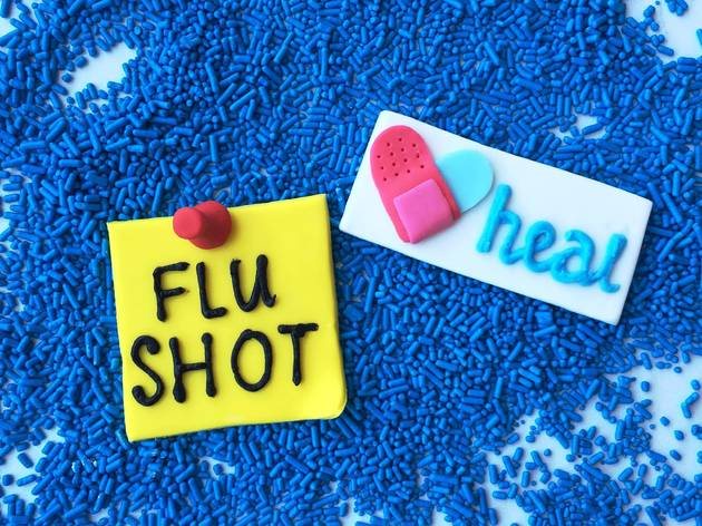 Heal Flu Shot Day at Duff's Cakemix