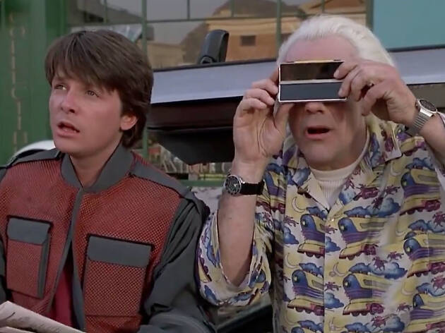 Back to the Future II... 2015 as imagined in 1989