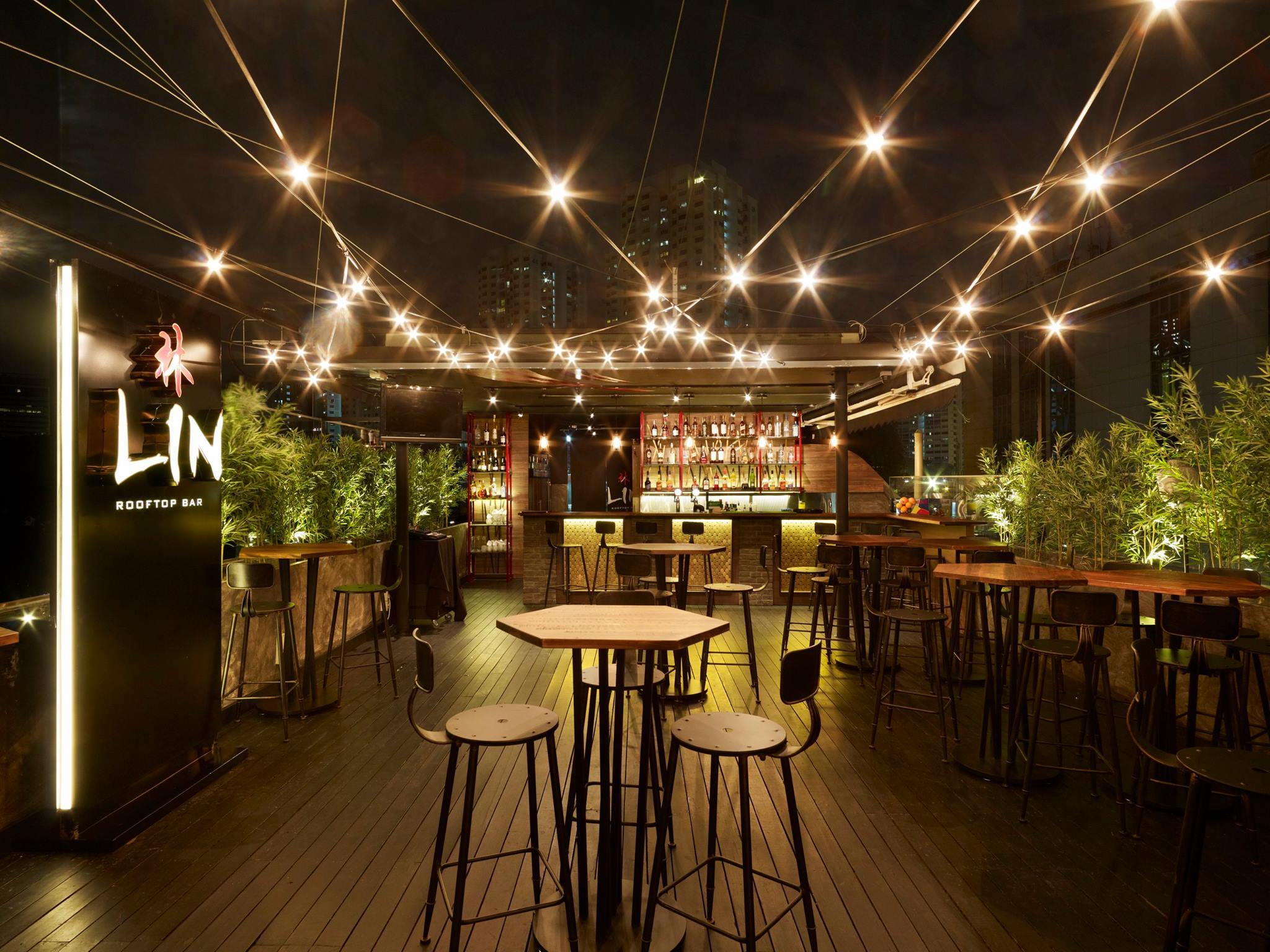 Lin Rooftop Bar Restaurants In Tiong Bahru Singapore