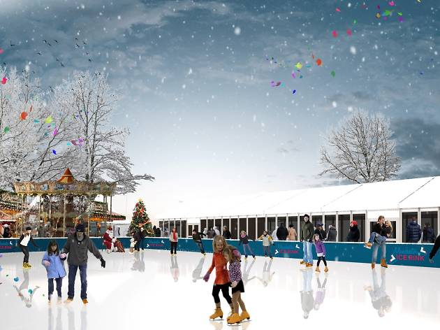 Ice skating in Manchester this Christmas