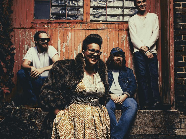 Les Inrocks Philips : Alabama Shakes + Algiers + Last Train + The Prettiots
