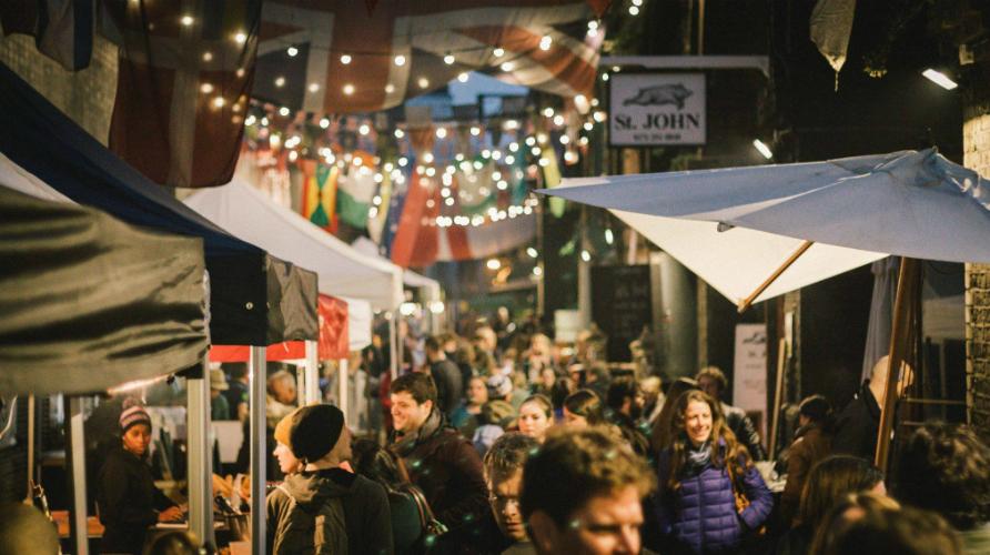 Eat: Maltby Street Market