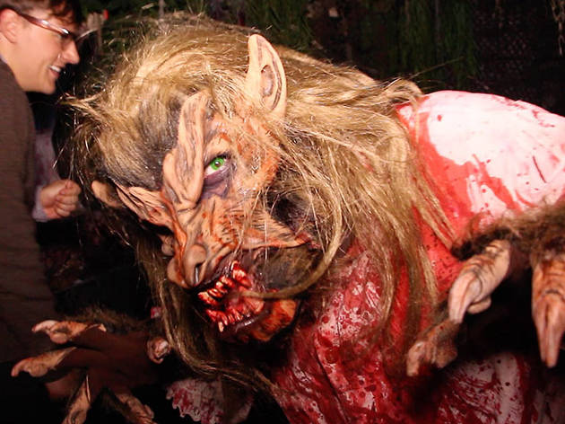 Take an exclusive first look at this year's horrifying Blood Manor