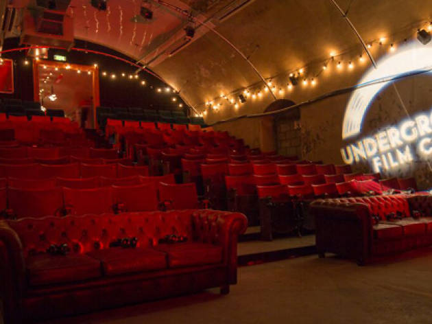 Christmas at the Underground Film Club