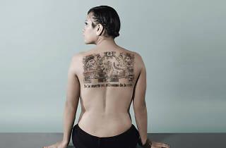 El centro cultural universitario tlatelolco expondrá fotografías de los tatuajes ganadores del concurso In tlilli in tlapalli