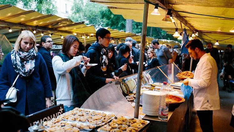 Food Market de Belleville (© Puxan BC)