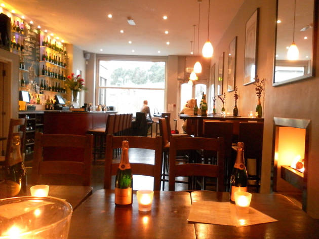 the best champagne bars in London, amuse bouche