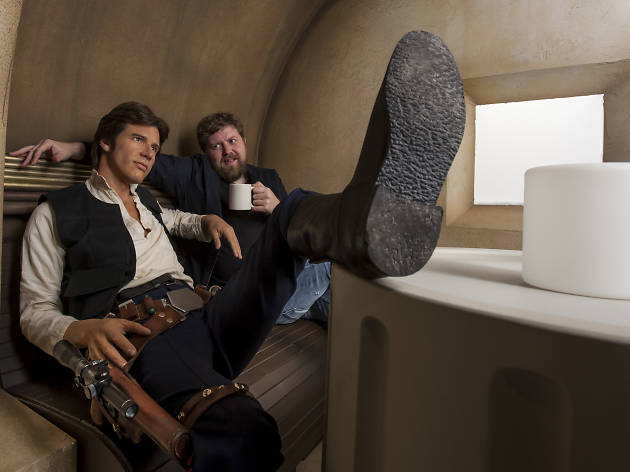 han solo, madame tussauds, star warshan solo, madame tussauds, star wars