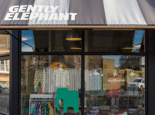 Gently Elephant, shopping, Brockley