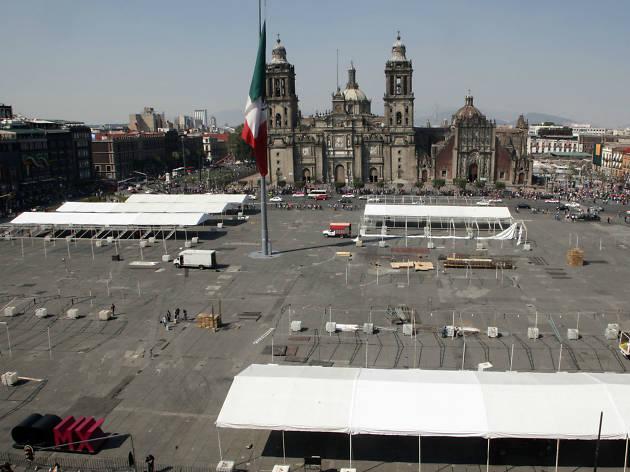 Feria Internacional del Libro en el Zócalo