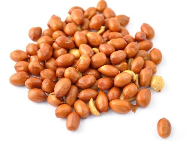 Crunchy peanuts