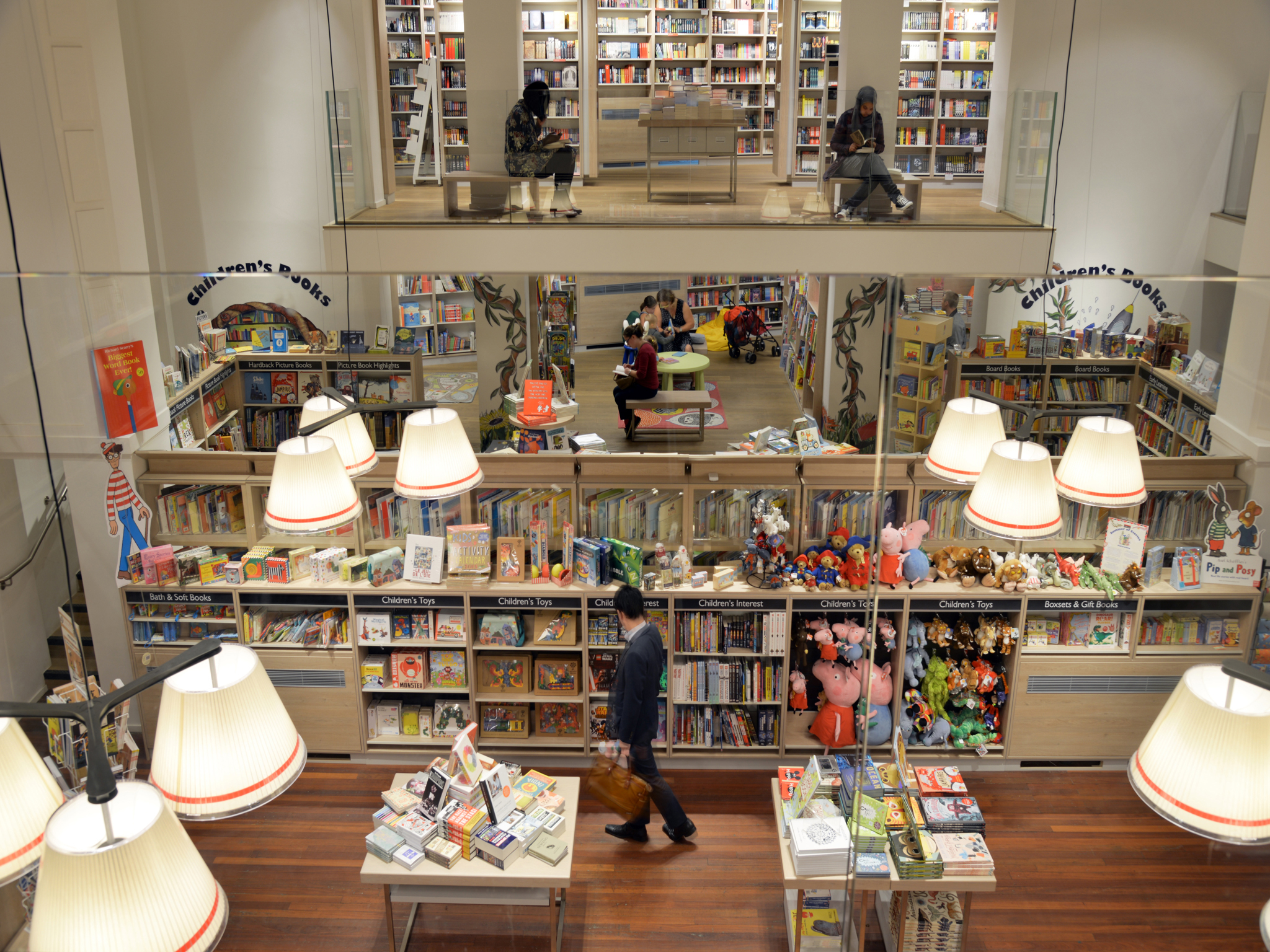 Browse more than 200,000 titles at Foyles' flagship branch