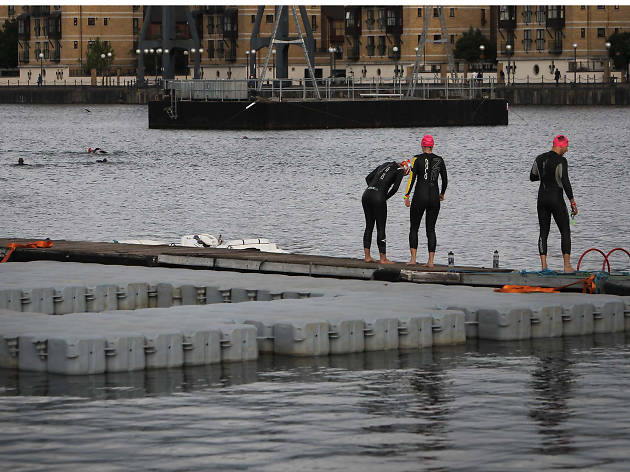 Plunge into the deep at Royal Victoria Dock