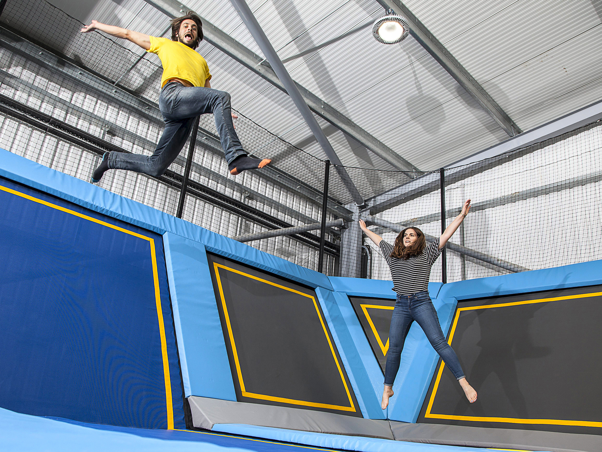 Bounce off the walls at Oxygen Freejumping