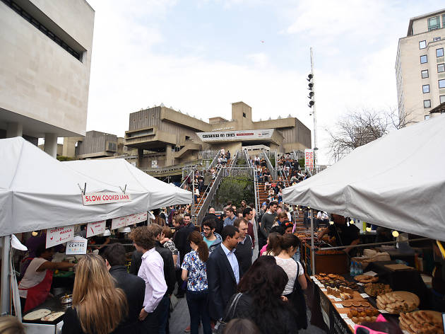 101 Things To Do in London: Southbank Centre food market