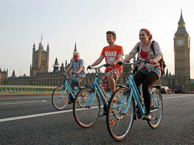 101 Things To Do in London: London Bicycle Tour Company