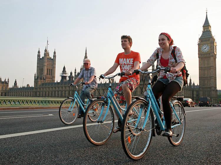 Bike tours in London