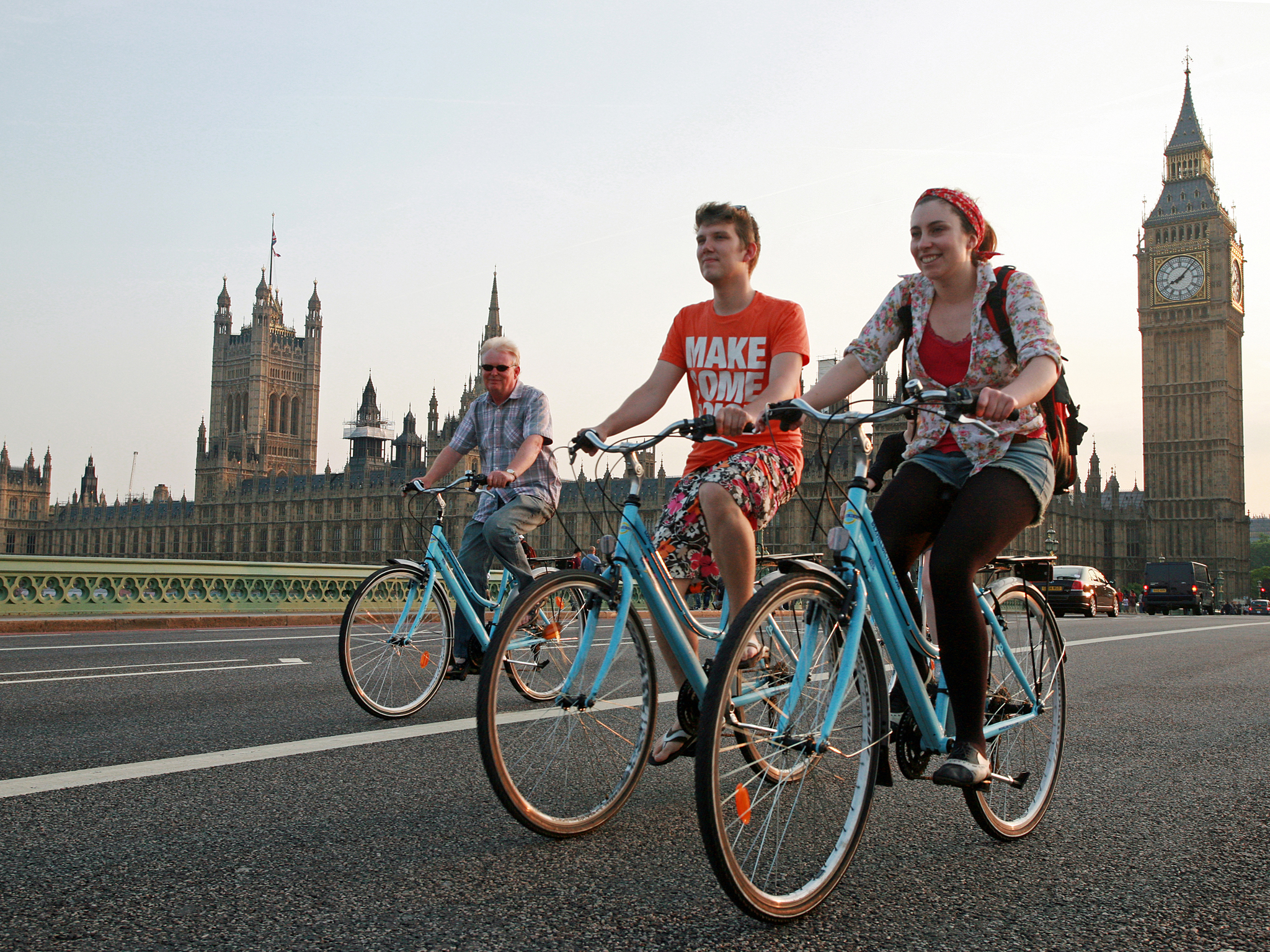 See the city from a saddle with the London Bicycle Tour Company
