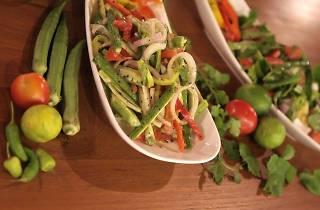 ladies finger salad