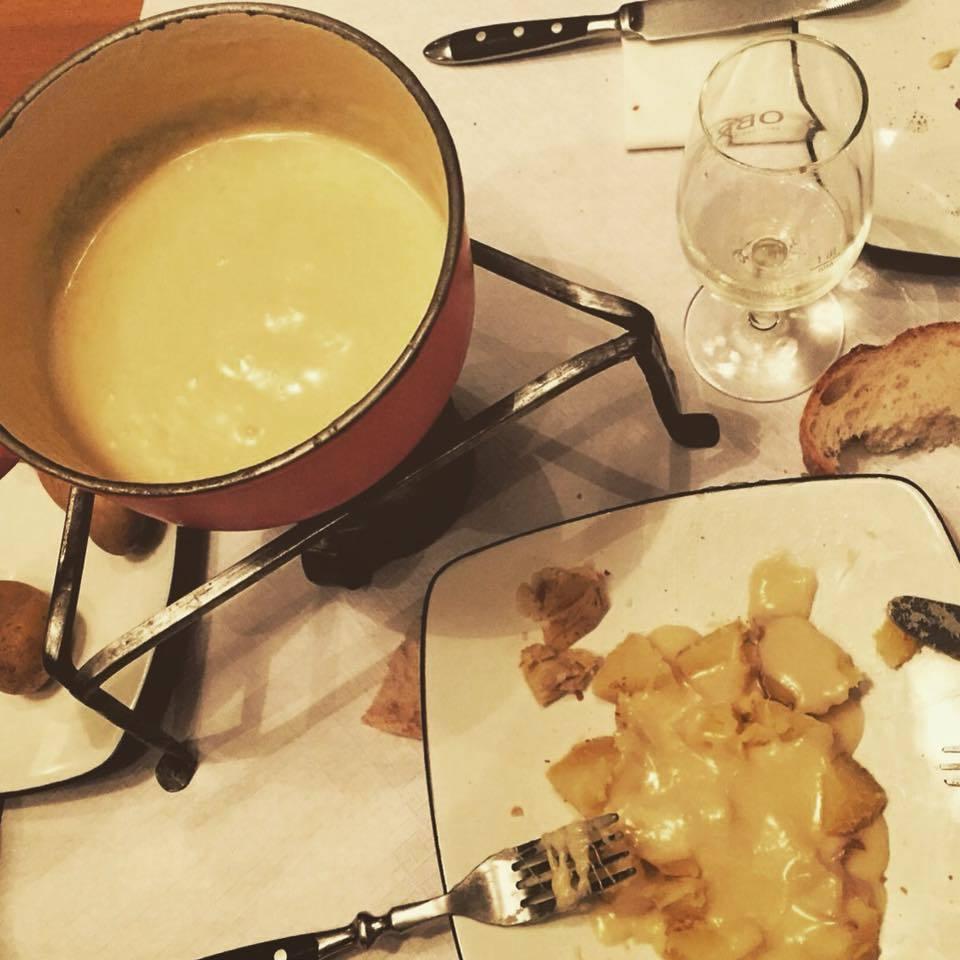 Original Fondue Recipes at Café Bon-Vin