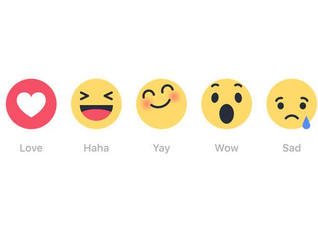 Noves emoticones de facebook