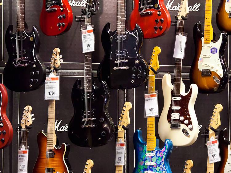 Guitar Center Times Square