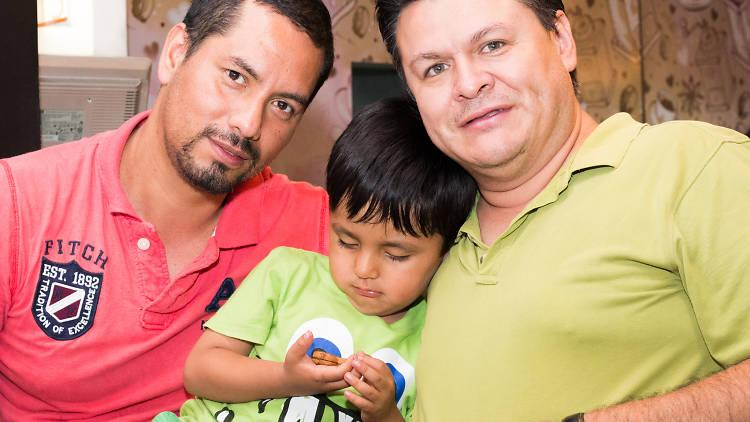 Jorge Cerpa y Antonio Medina hablan sobre las familias homoparentales