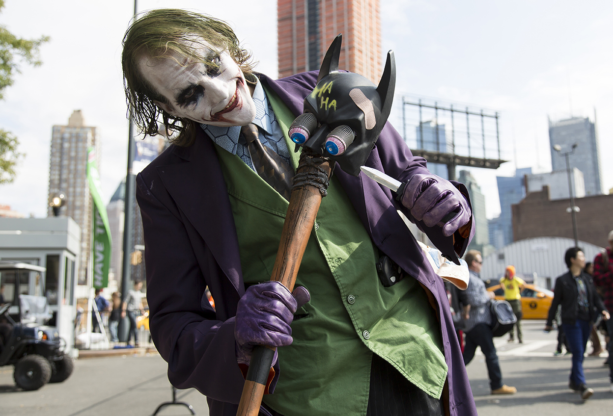 Heroes of New York: Comic Con Street Style