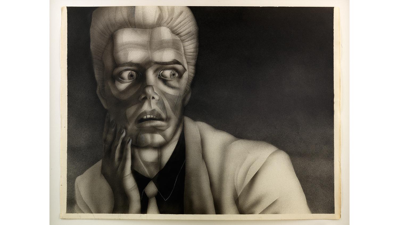 Jim Shaw, Untitled (Noir Portrait series), 1978