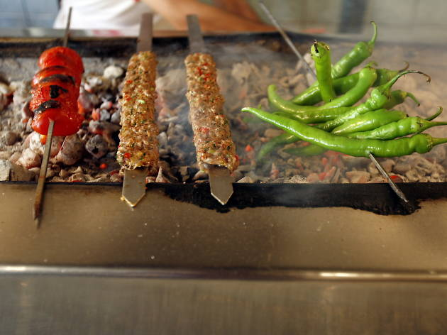 Eat authentic Turkish kebabs at Mangal Ocakbasi in Dalston