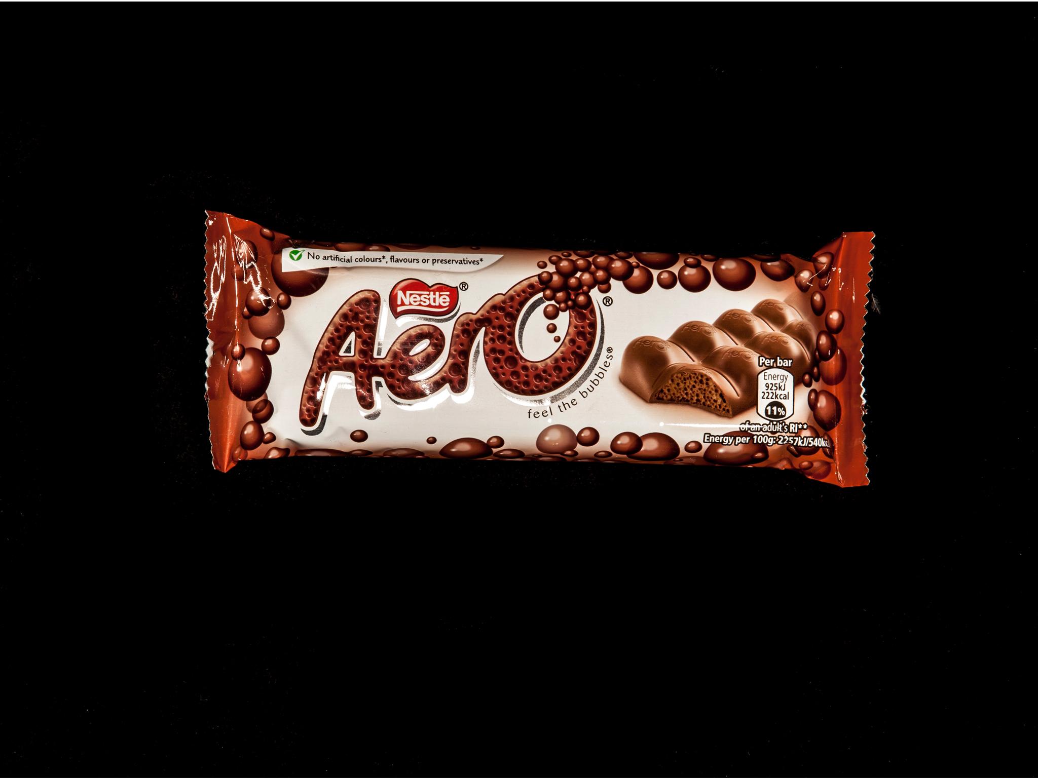 Best chocolate bars, Aero