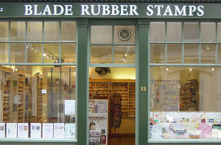 Blade Rubber Stamps, shopping, Bloomsbury