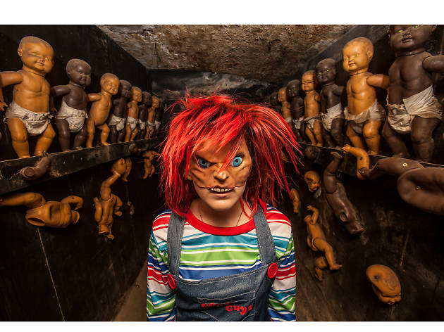 Halloween costumes in London: Chucky